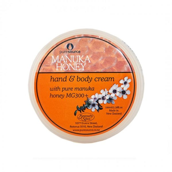 Manuka Hand & Body Cream Pot 100ml