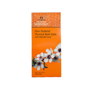 Marvellous Manuka New Zealand Thermal Bath Salts with Manuka Leaf - 100g