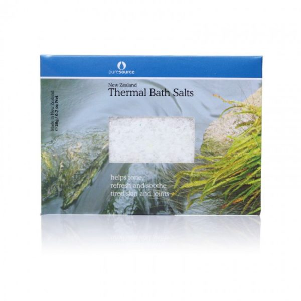 New Zealand Thermal Bath Salts - 20g