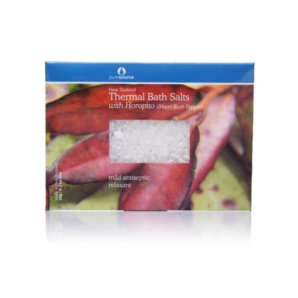 New Zealand Thermal Bath Salts with Horopito - 20g