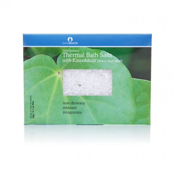 New Zealand Thermal Bath Salts with Kawakawa - 20g