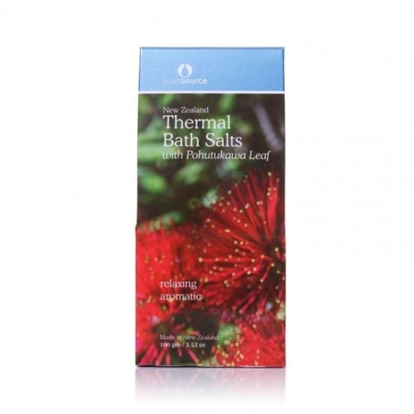 New Zealand Thermal Bath Salts with Pohutukawa Leaf - 100g