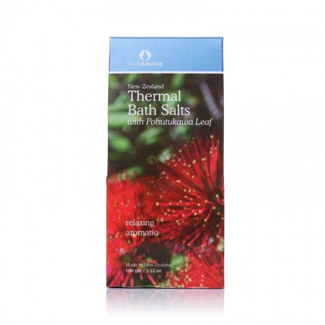 New Zealand Thermal Bath Salts with Pohutukawa Leaf - 100g