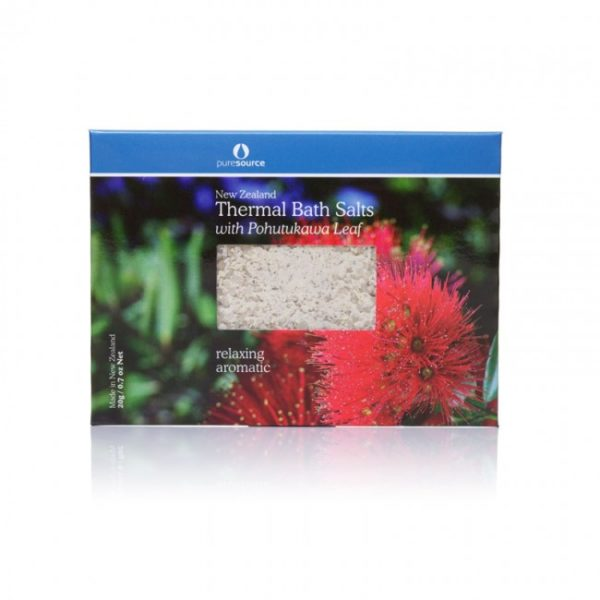 New Zealand Thermal Bath Salts with Pohutukawa - 20g