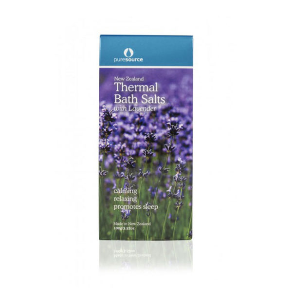 New Zealand Thermal Bath Salts with Lavender - 100g