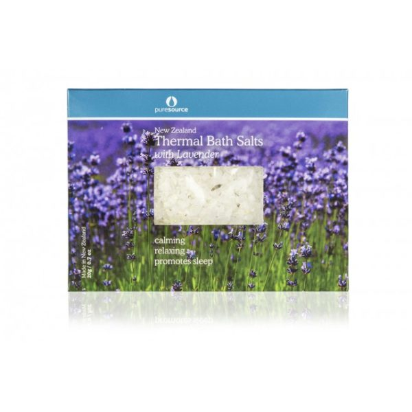 New Zealand Thermal Bath Salts with Lavender - 20g