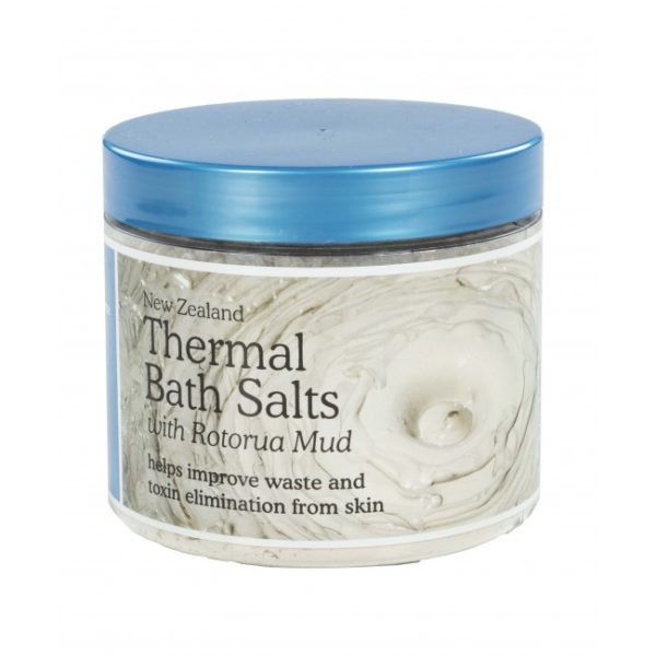 Thermal Bath Salts with Rotorua Thermal Mud - 500g