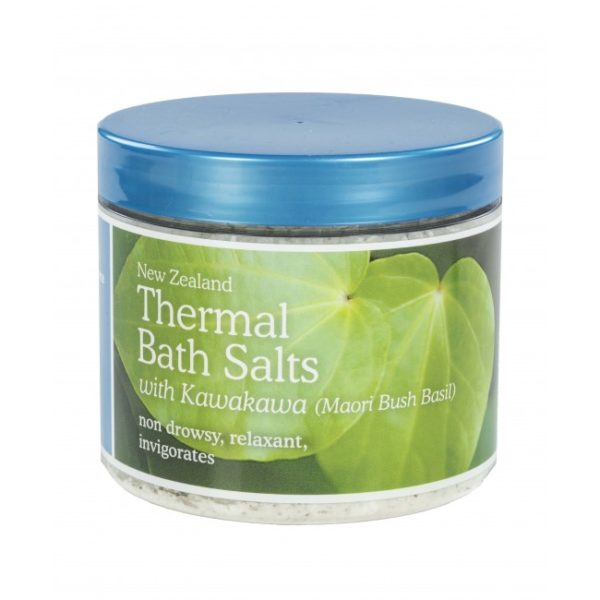 New Zealand Thermal Bath Salts with Kawakawa - 500g