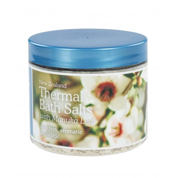 New Zealand Thermal Bath Salts with Manuka Leaf - 500g