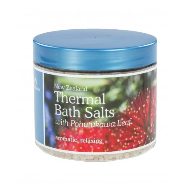 New Zealand Thermal Bath Salts with Pohutukawa Leaf - 500g