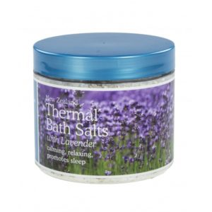 New Zealand Thermal Bath Salts with Lavender - 500g
