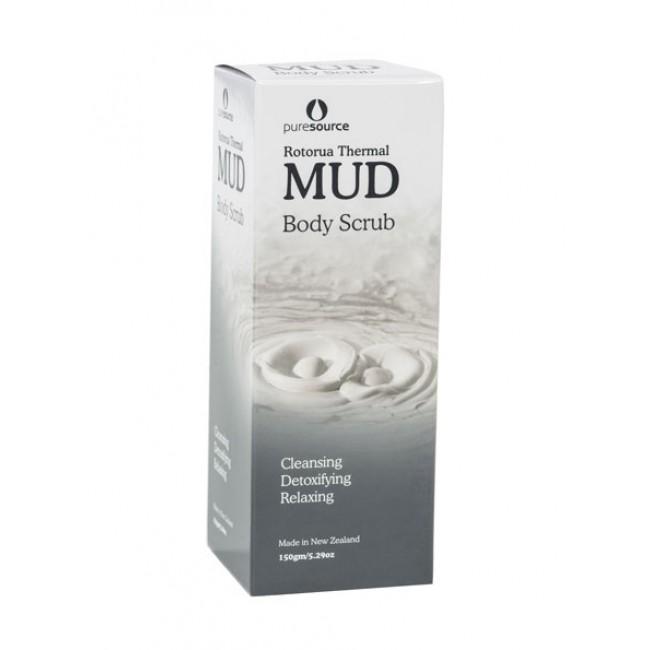 Rotorua Thermal Mud Body Scrub -150g
