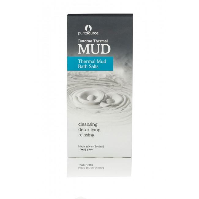 Thermal Bath Salts with Rotorua Thermal Mud - 100g