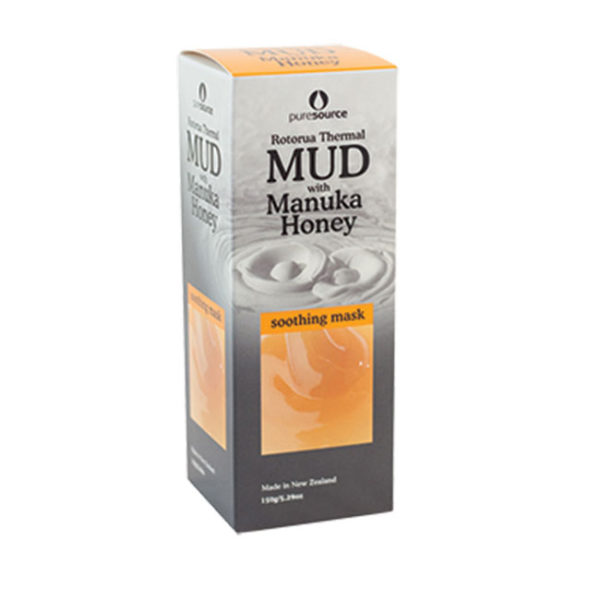 Rotorua Thermal Mud Mask with Manuka Honey 150g