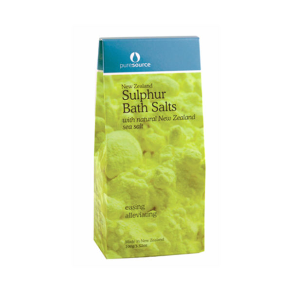 New Zealand Sulphur Bath Salts