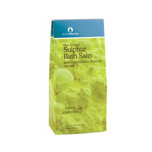 New Zealand Sulphur Bath Salts
